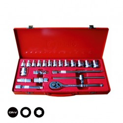 "1/2"" SOCKET SET 22 PCS"