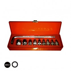 "1/2"" DR MULTI FUNCTION SOCKET SET 10 PCS"