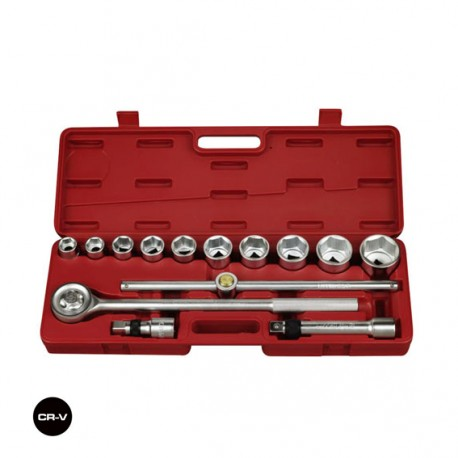 "3/4"" DR SOCKET SET 15 PCS"